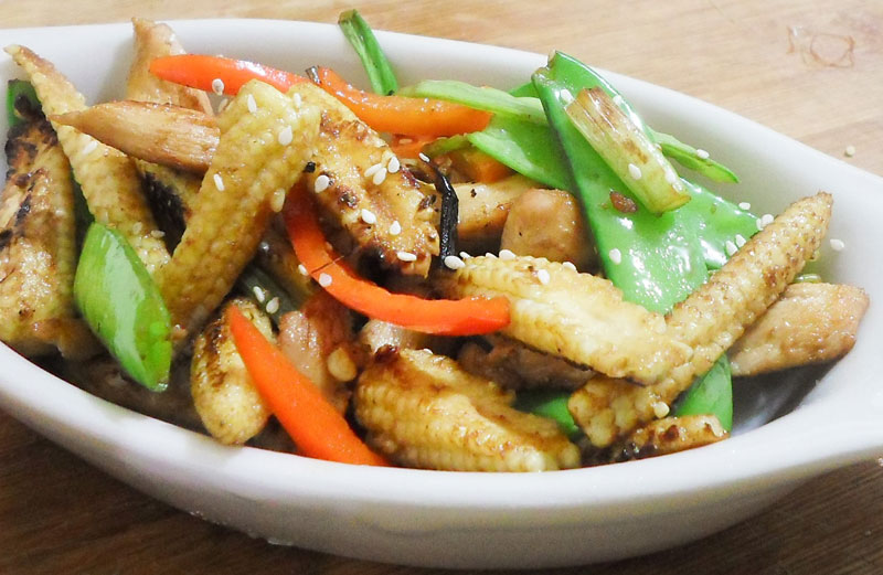 Photo of Healthy Chicken Stir Fry Recipe
