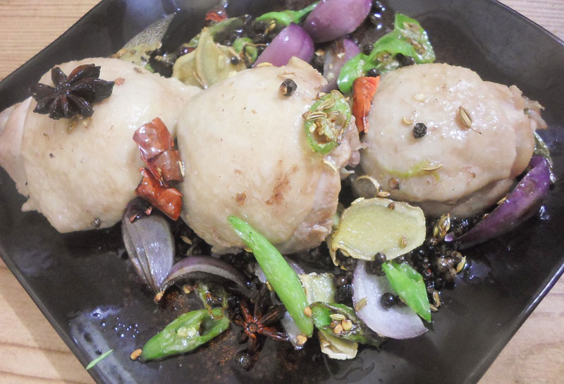 Photo of Spicy Poached Chicken Recipe