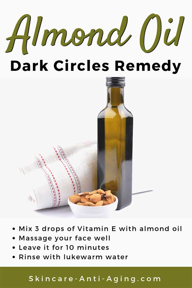 Almond Oil Dark Circles Remedy