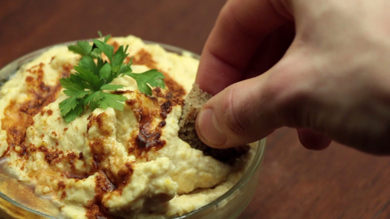 Photo of Homemade Hummus Recipe