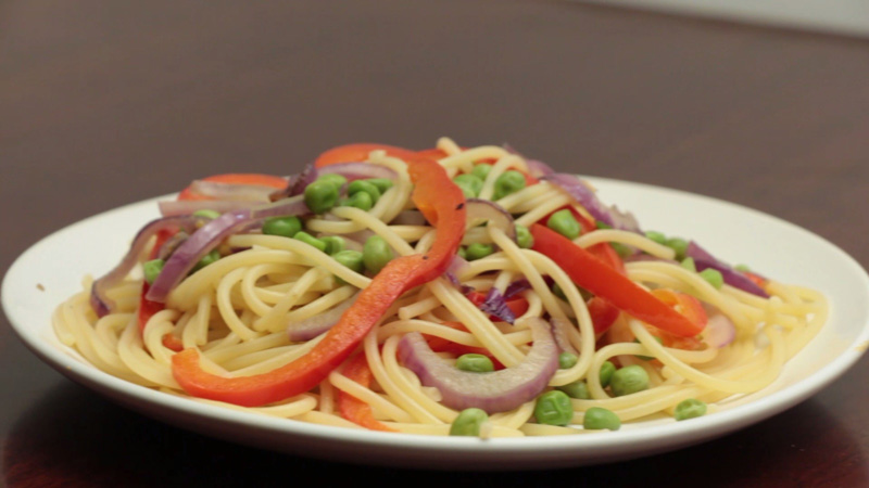 Photo of Loaded Spaghetti Recipe