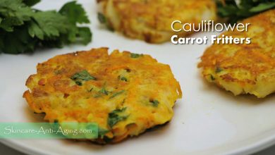 Photo of Cauliflower Carrot Fritters and Spinach Quiche Recipe