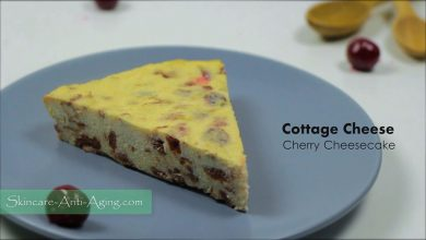 Photo of Cottage Cheese Cherry Cheesecake and Flatbread Basil Cheese Envelopes Recipe