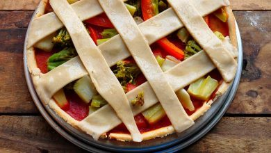 Photo of Tasty Vegan Broccoli Lattice Tart Recipe
