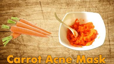 Photo of Home Made Carrot Acne Mask DIY For Clear Skin – Reduces Redness and Scars